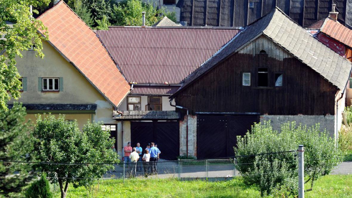 Dům v obci Široký Důl