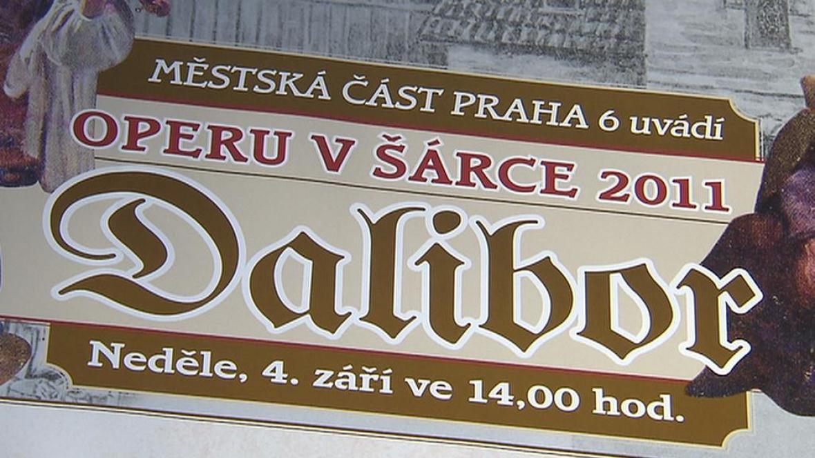 Opera Dalibor v Šárce