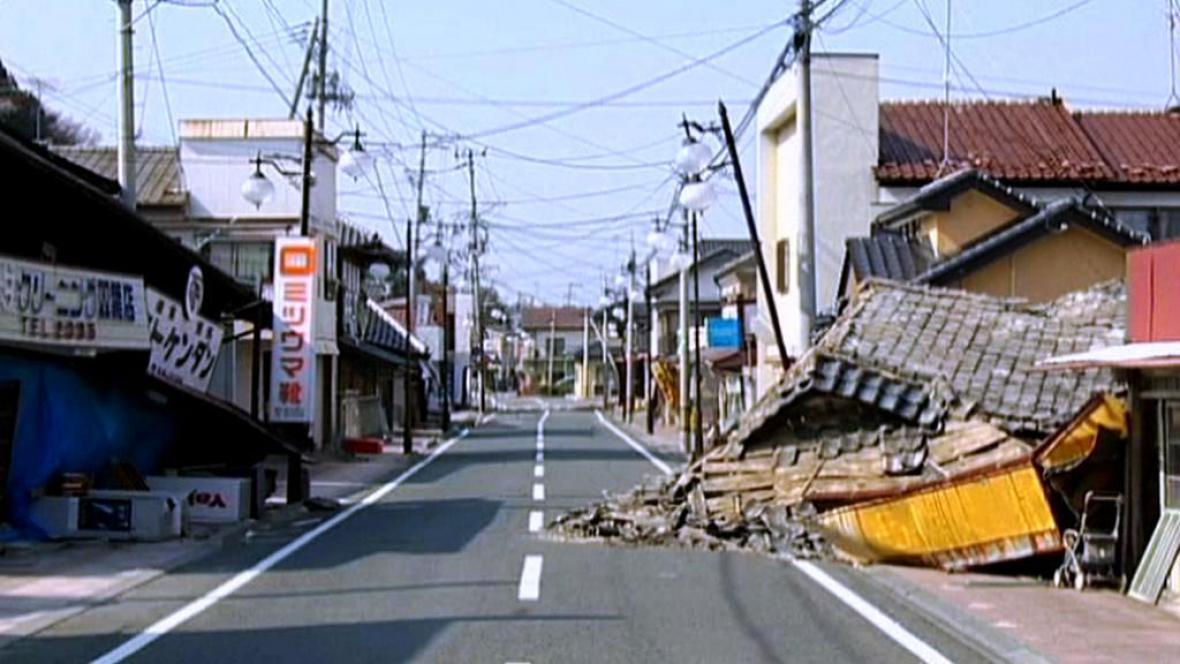 Japonsko zničené tajfunem