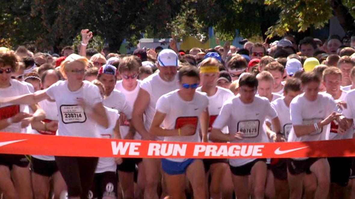 Nike Run Prague
