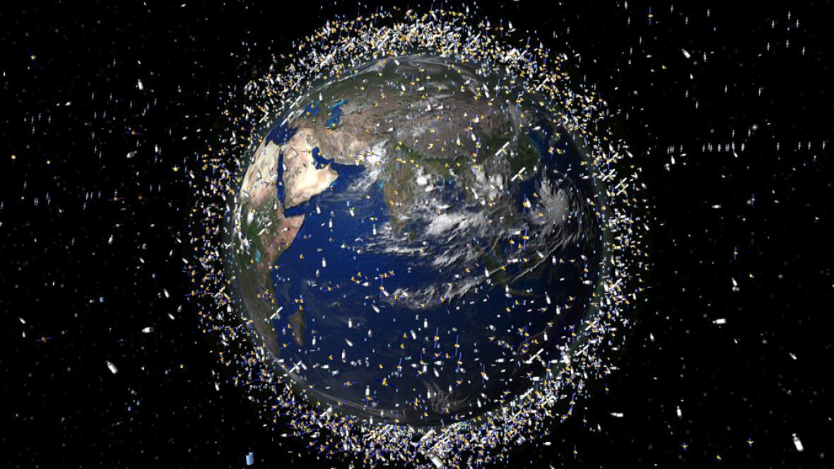 Odpad ve vesmíru