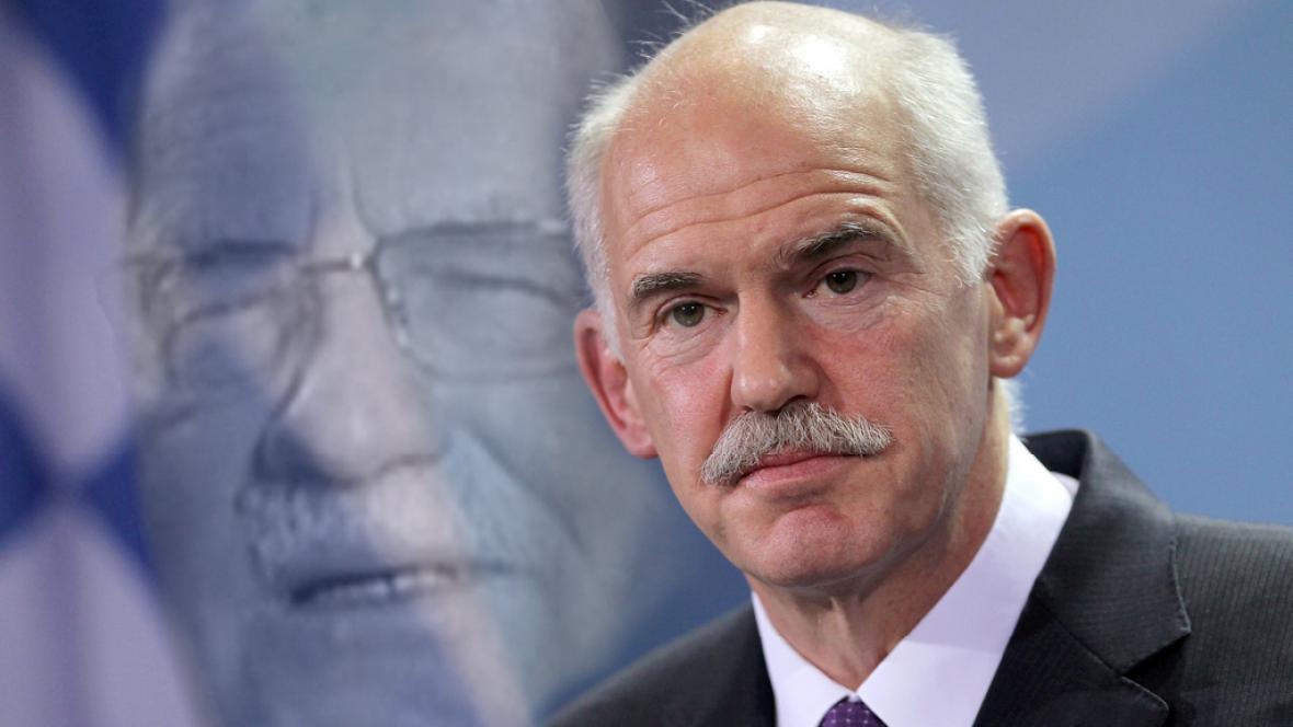 Řeckého premiéra Papandrea rozzlobily Klausovy výroky