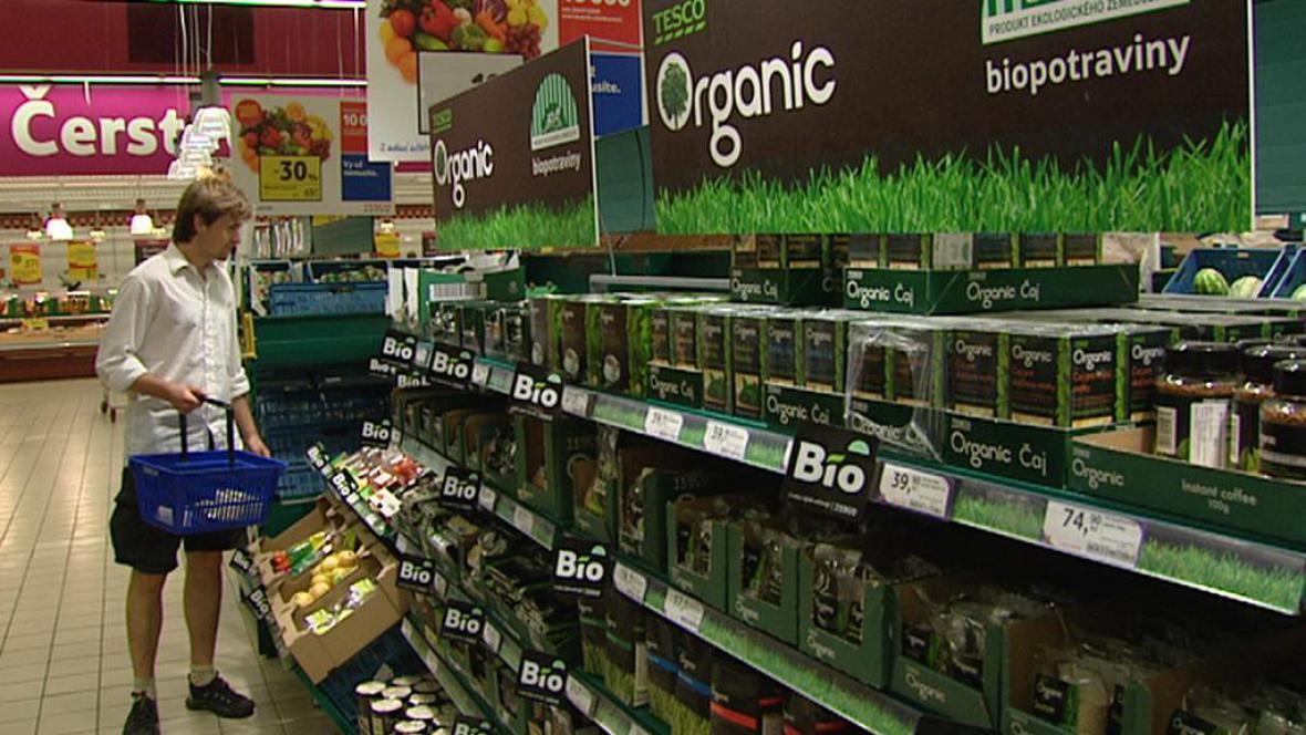 Nákup biopotravin