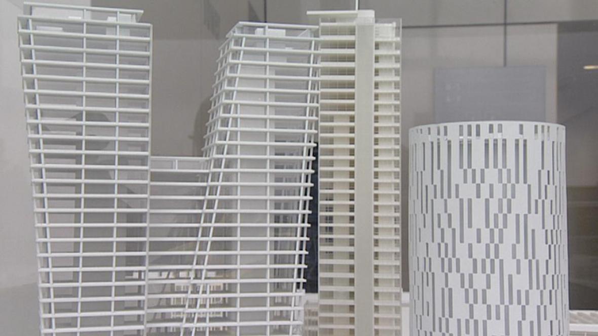 Projekt mrakodrapů na Pankráci