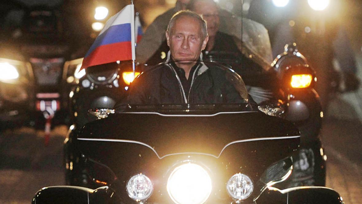 Vladimir Putin na harleyi