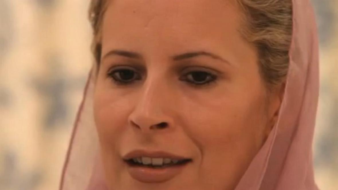 Kaddáfího dcera Ajša