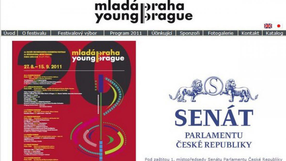 Mladá Praha / pozvánka