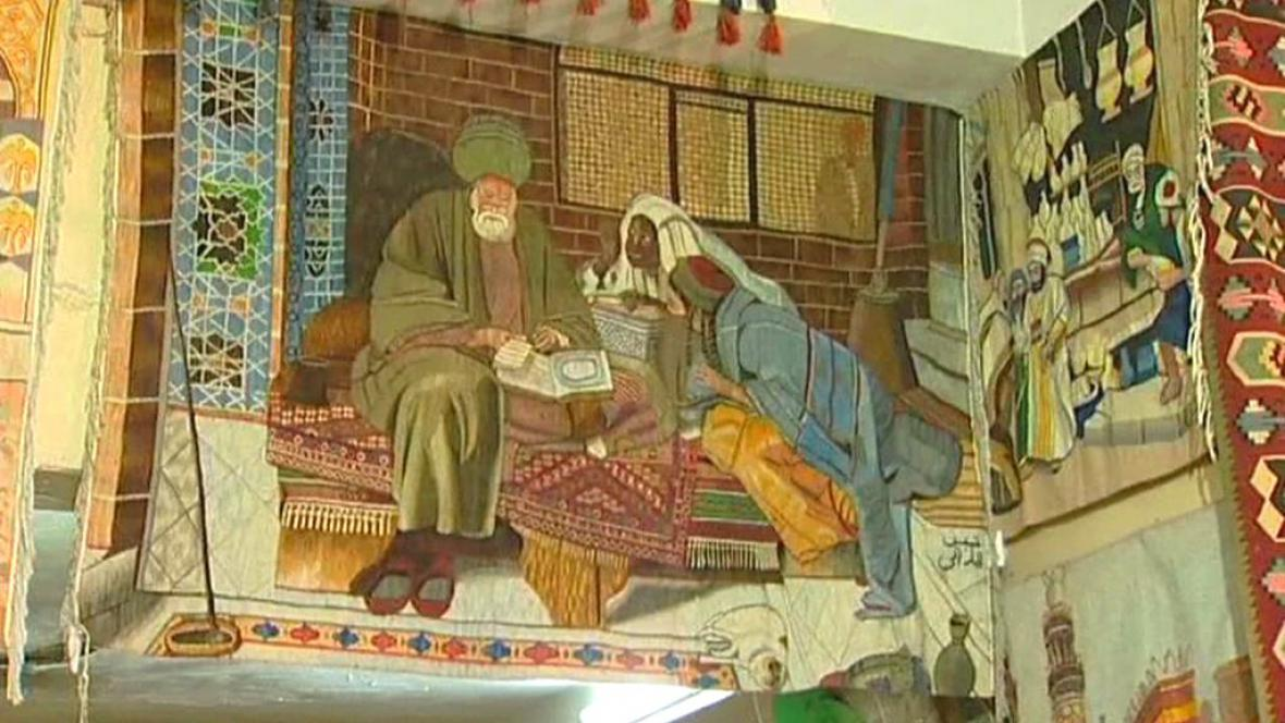 Egyptský koberec