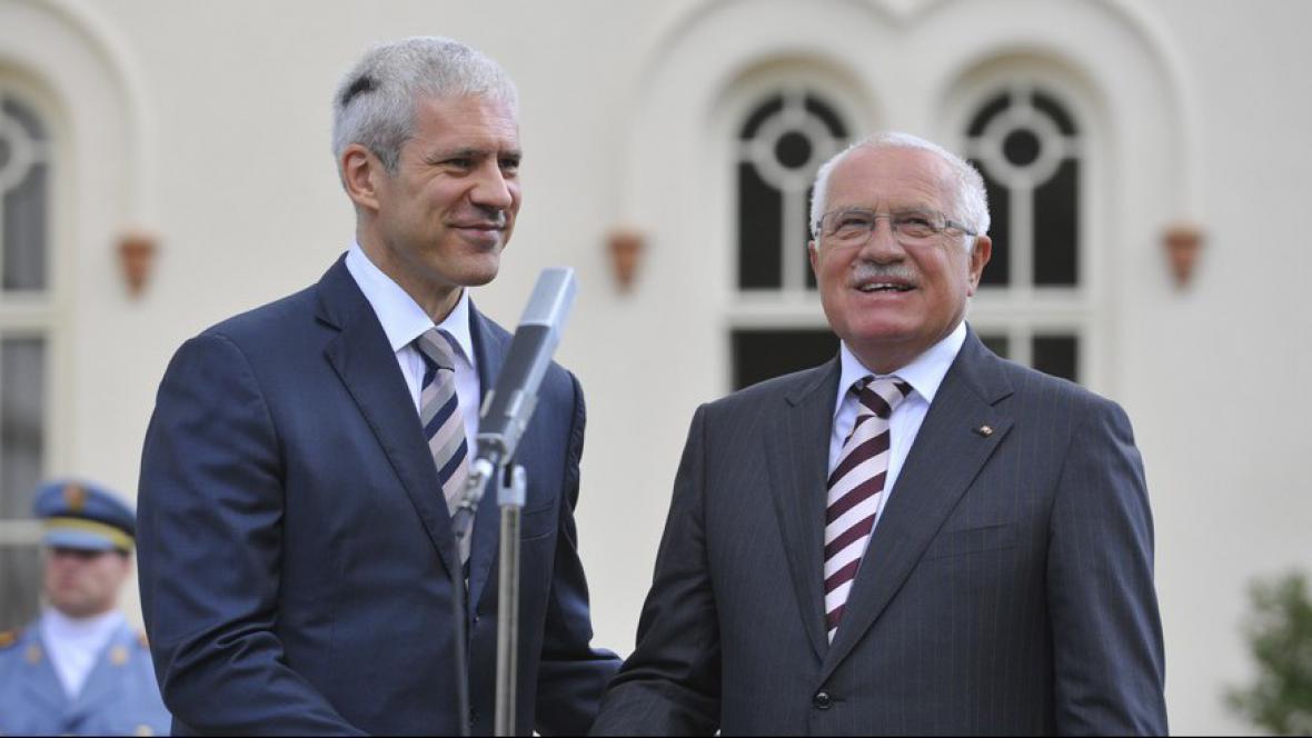 Klaus a Tadić