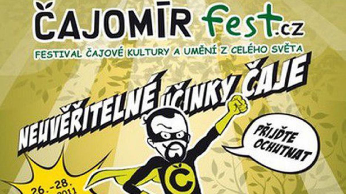 Čajomír fest 2011 / plakát