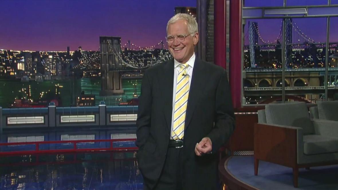 David Letterman vtipkoval o svém rozsudku smrti