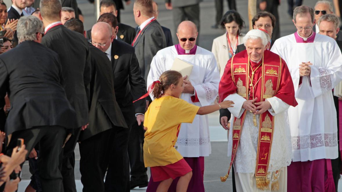 Papež Benedikt XVI. ve Španělsku