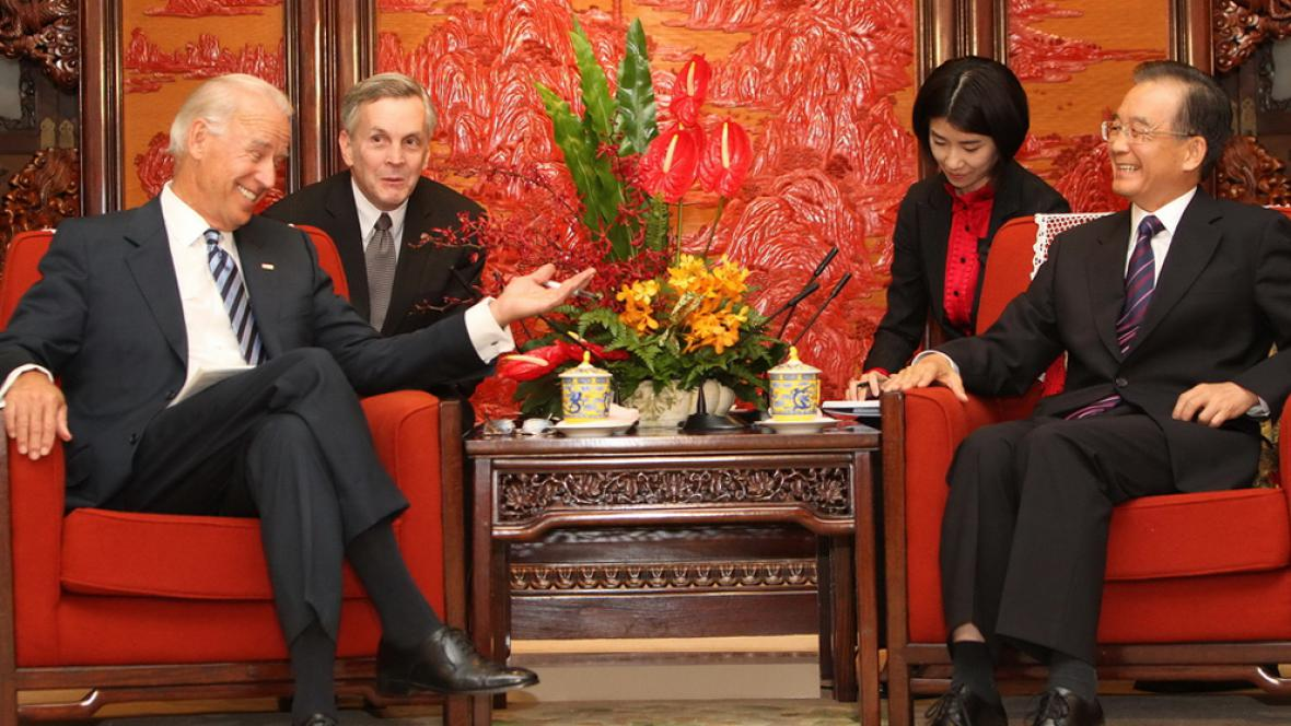 Joe Biden a Wen Ťia-pao