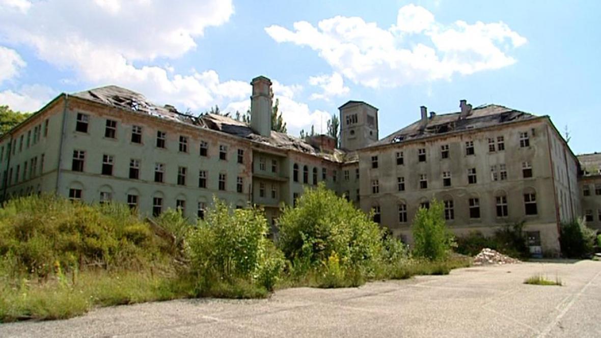 Areál býyvalého kláštera v Chebu