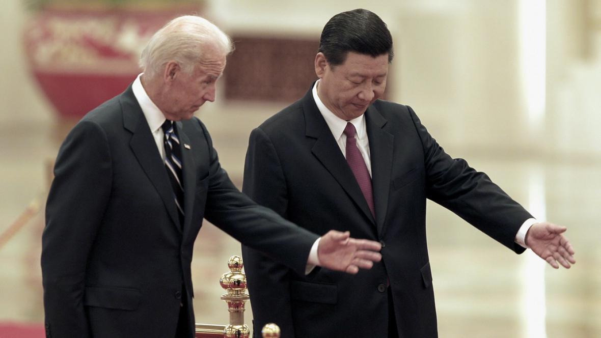 Joe Biden a Si Ťin-pching
