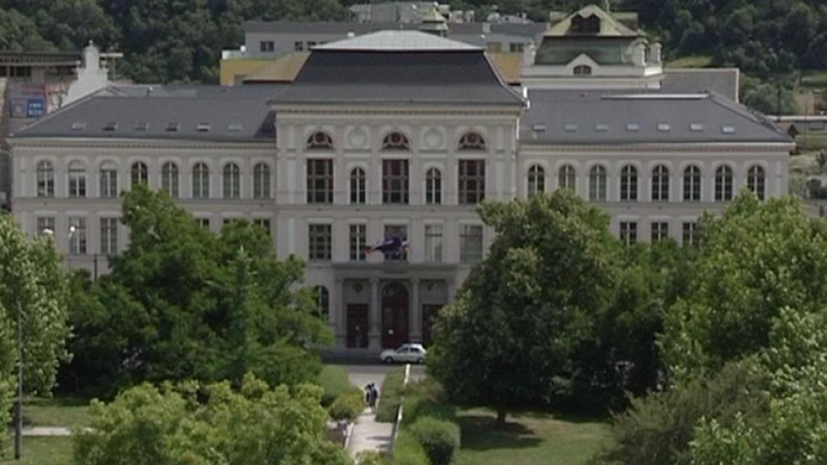 Budova ústeckého muzea