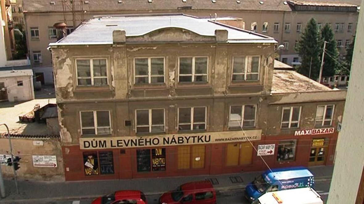 Bývalá textilka v Brně