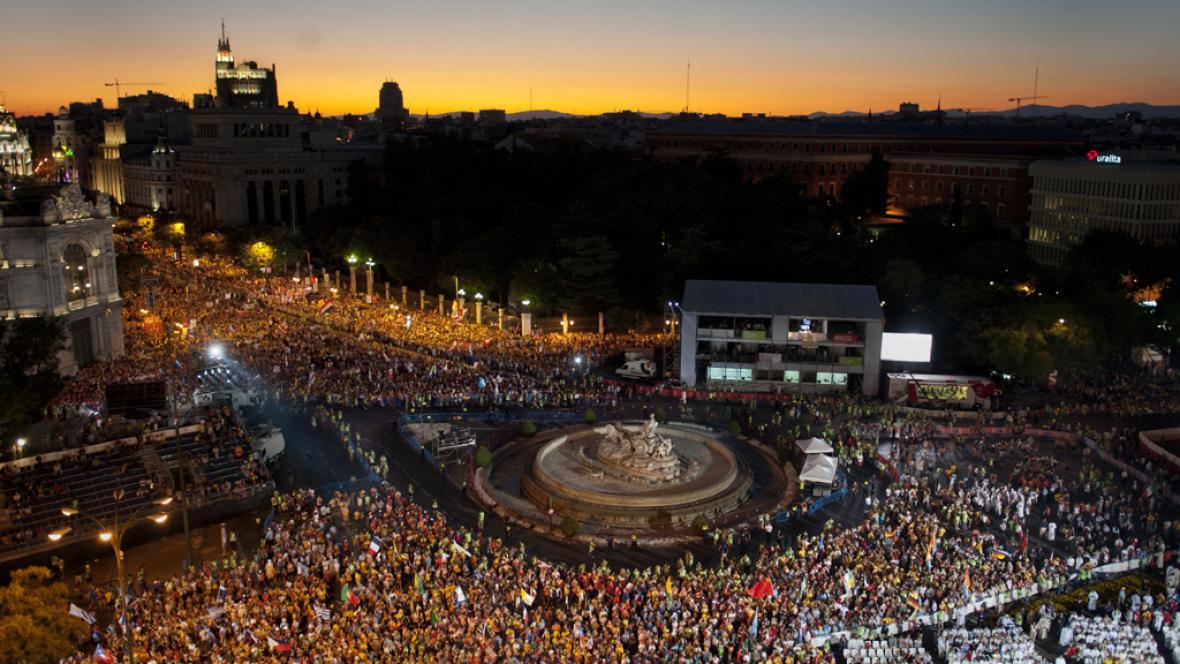 V Madridu začaly světové dny mládeže
