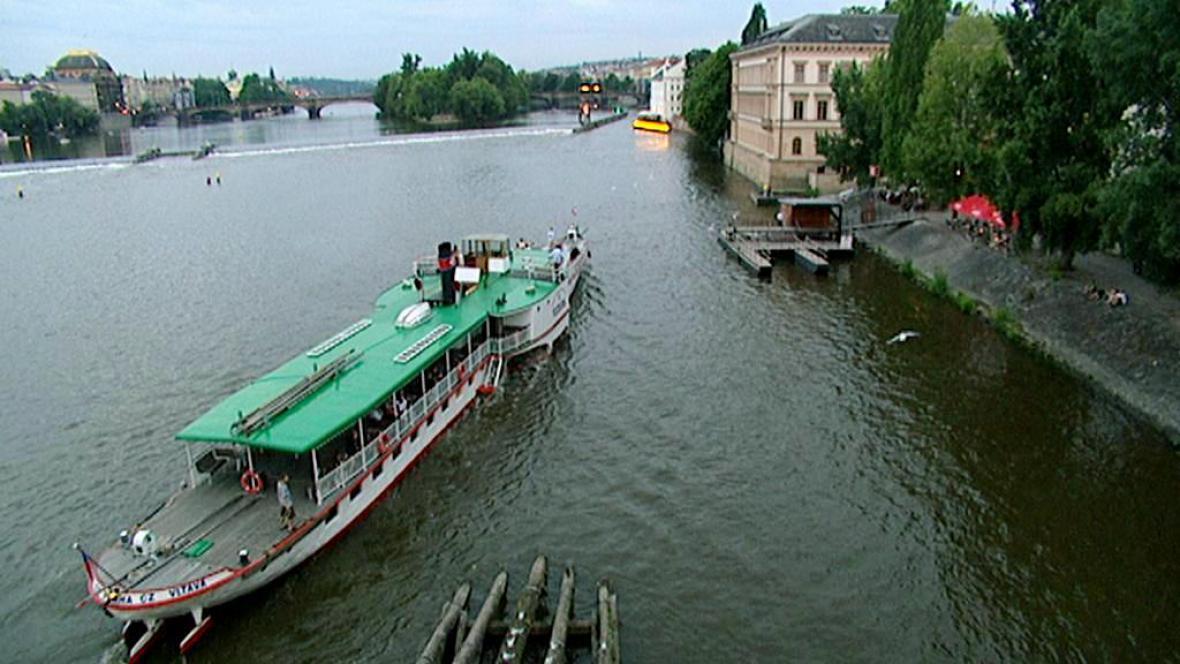 Parník na Vltavě