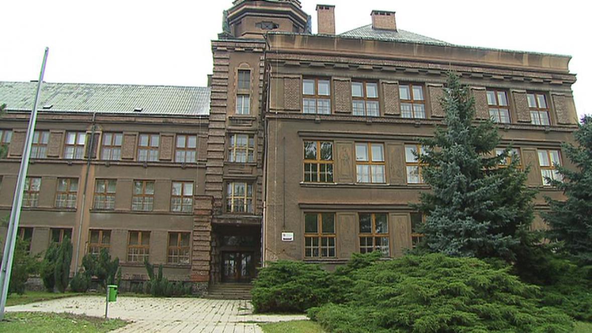 Budova kolínského gymnázia