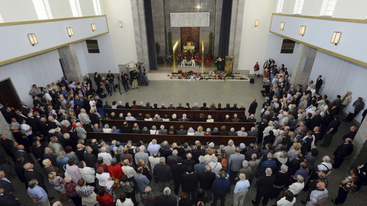 Pohřeb Jiřiny Švorcové