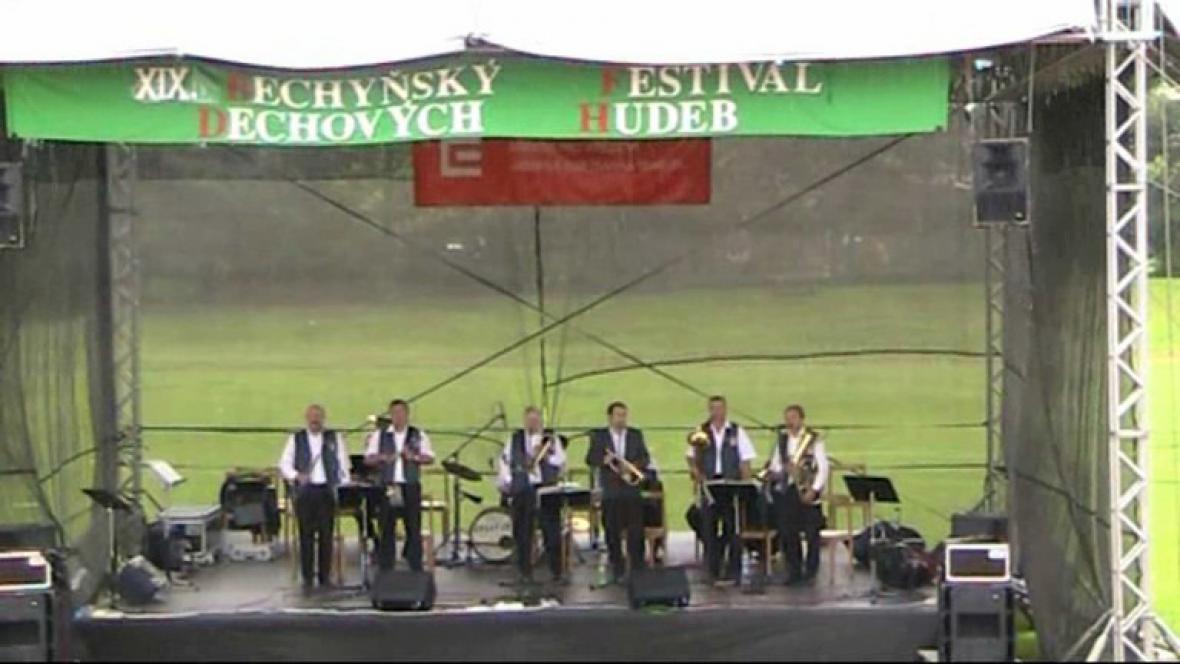 Festival dechovek v Bechyni