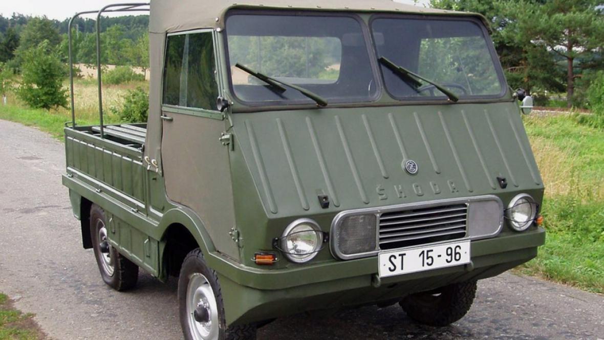 Agromobil Škoda 998