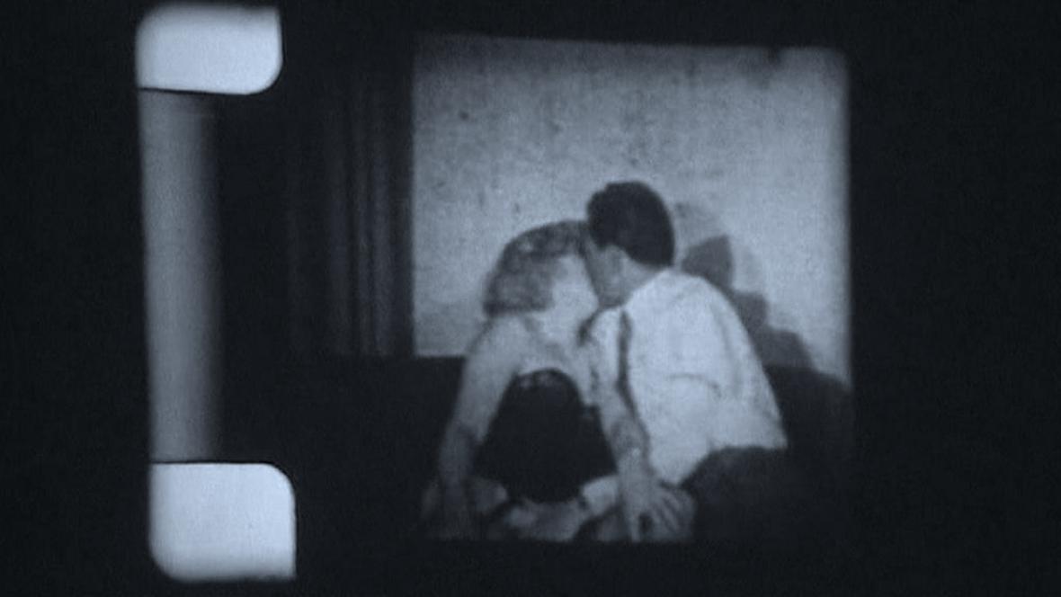 Erotický snímek s mladou Marilyn Monroe