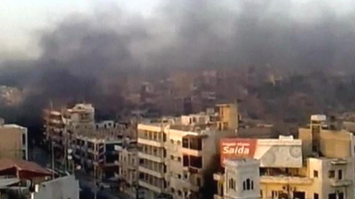 Syrská armáda vtrhla do města Hamá