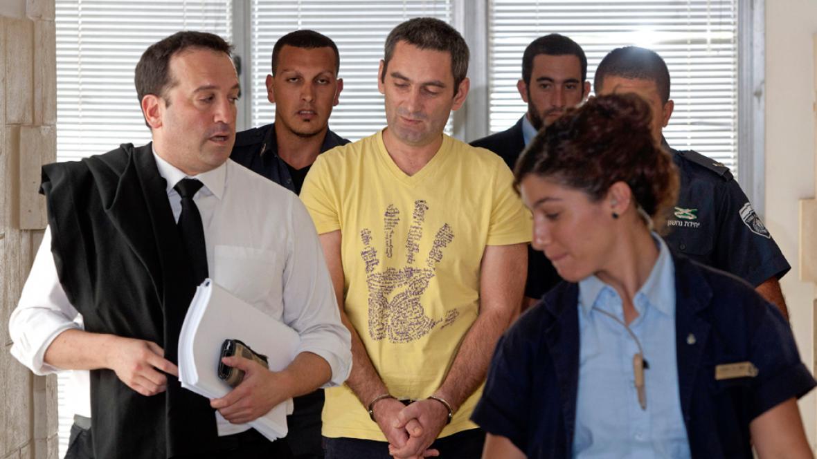 Aleksander Cvetković u izraelského soudu