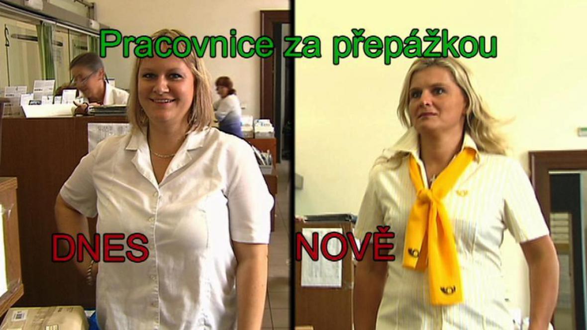 Nové oblečení pro pracovníky pošty