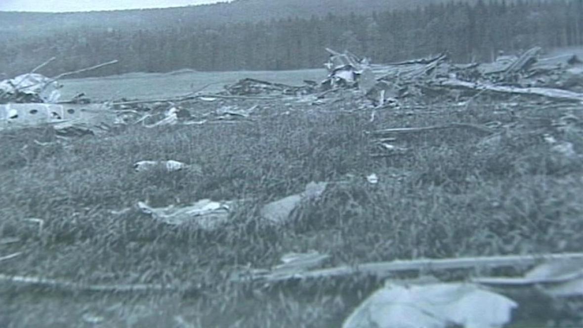 Nehoda armádního letadla u Lomu nad Rimavicou