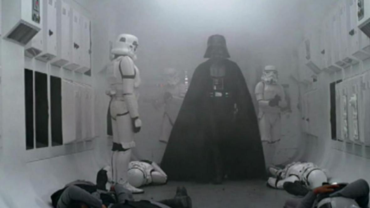 Scéna z Hvězných válek