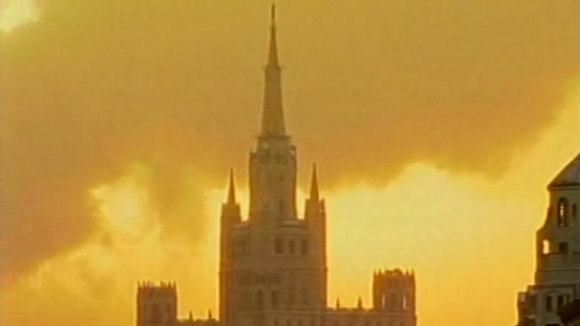 Smog v Moskvě