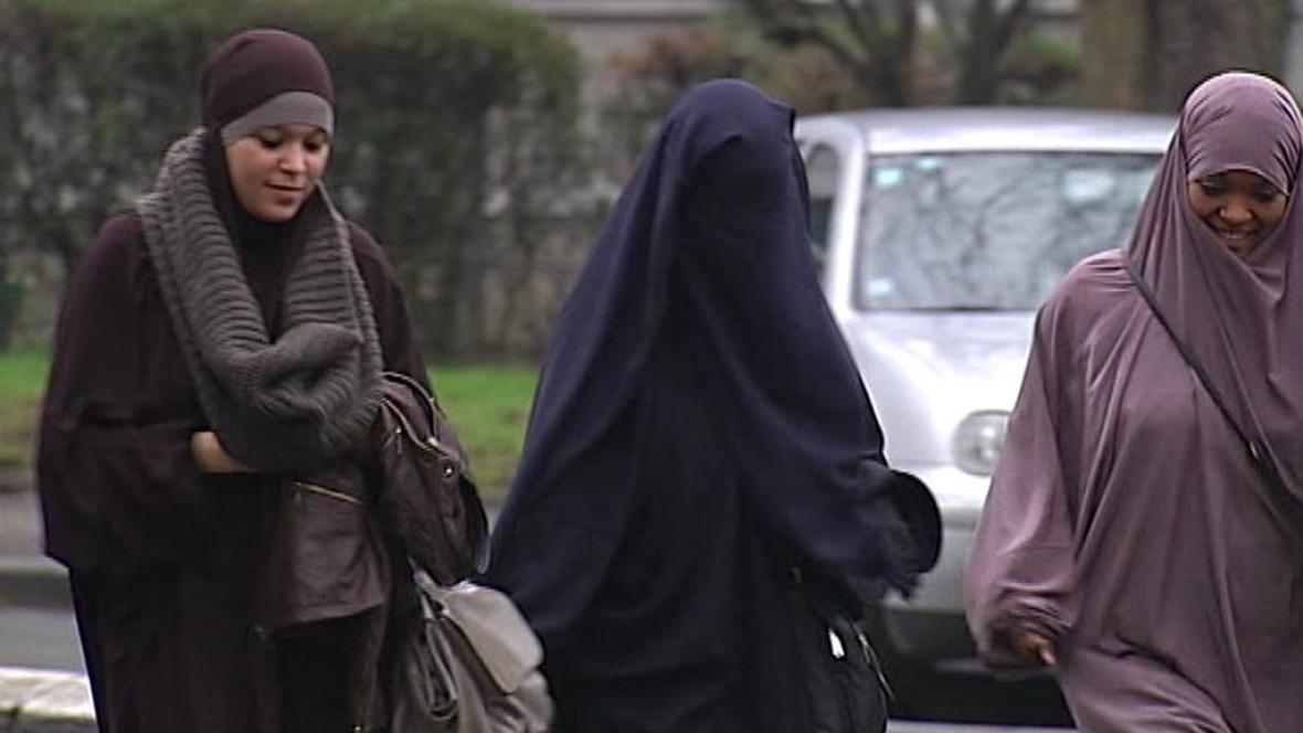 Zahalené ženy v Belgii