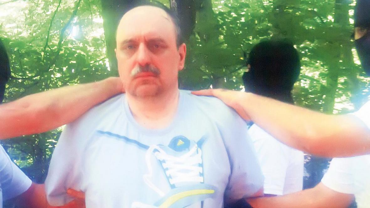 Zatčený Goran Hadžić