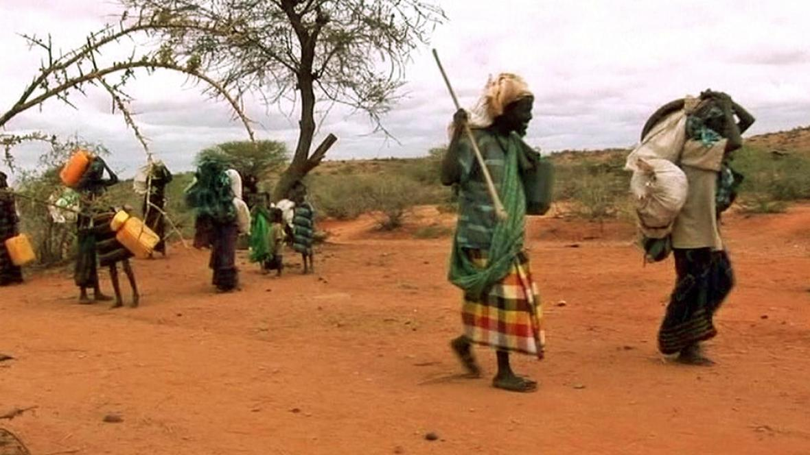 Východ Afriky trápí sucho