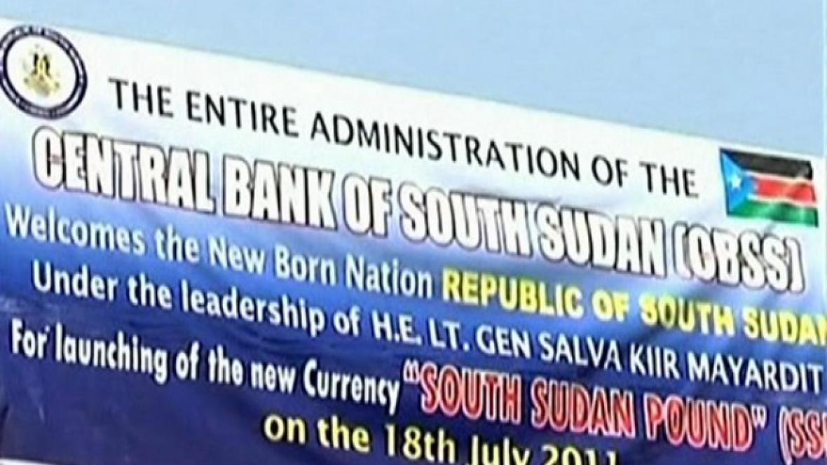 Centrální banka Jižního Súdánu