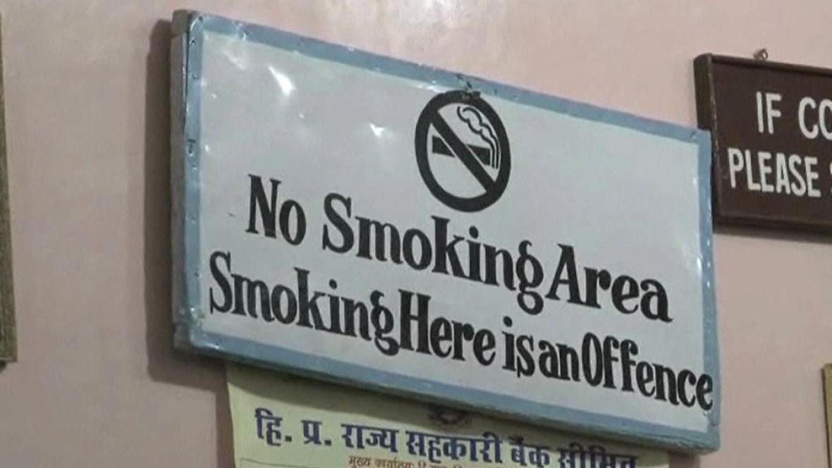 Indické město Šimla zakázalo kouření