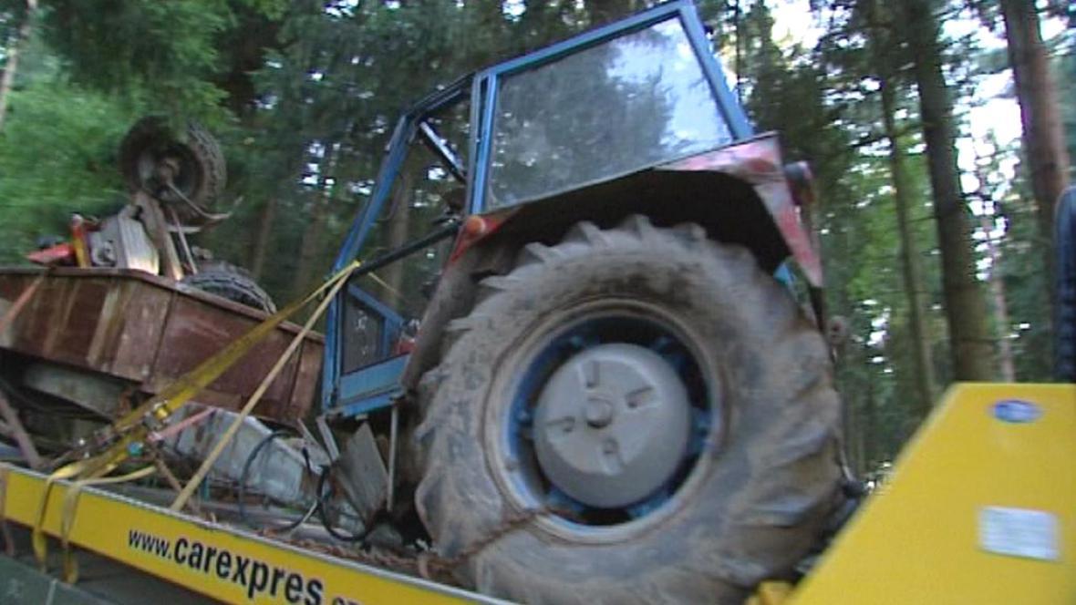 Nehoda traktoru