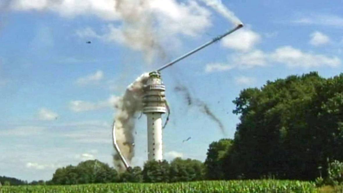 Zřícení vysílací věže v Hoogersmilde
