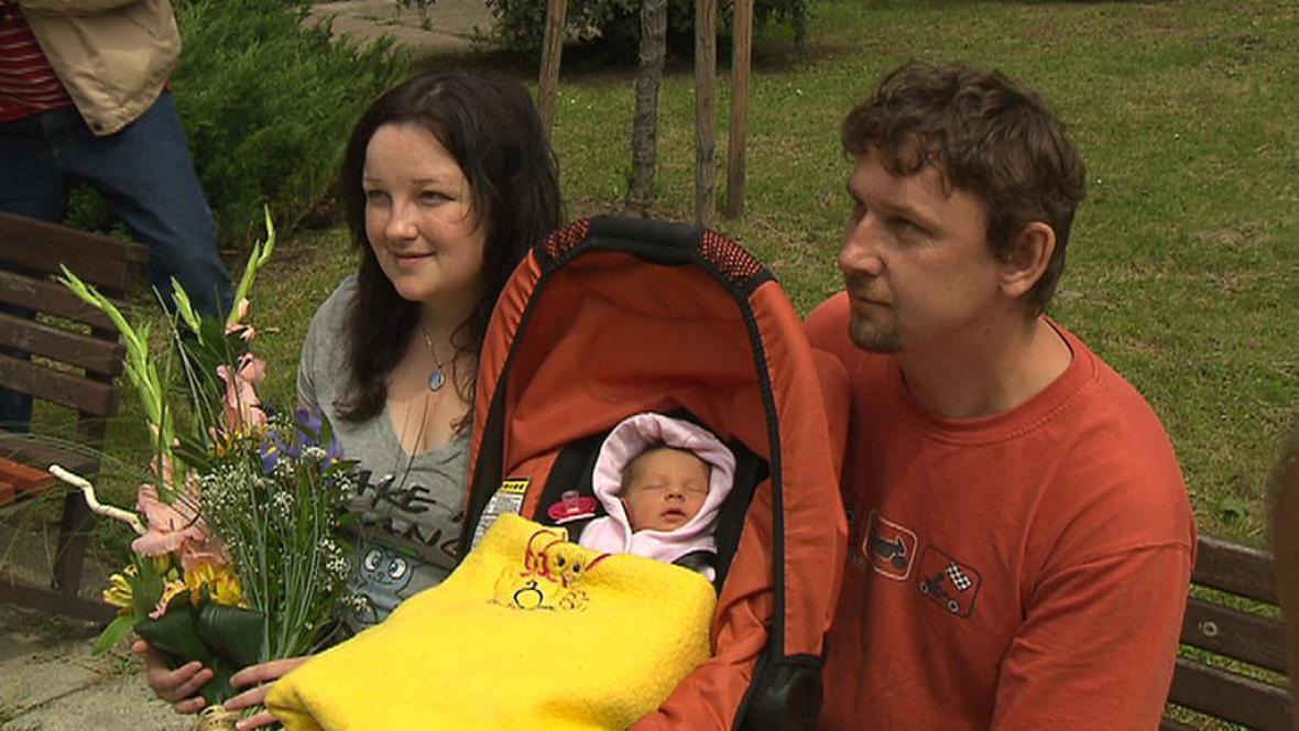 Petra Schánilcová s rodinou