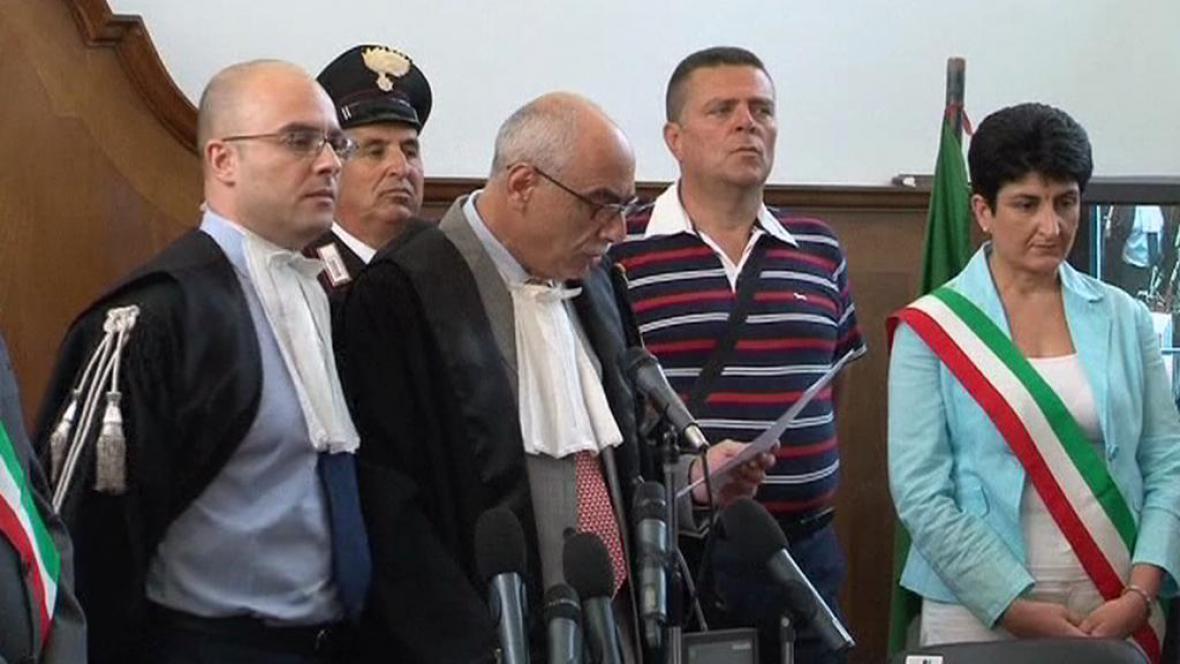 Italský soud poslal Giovanniho Strangia na doživotí do vězení