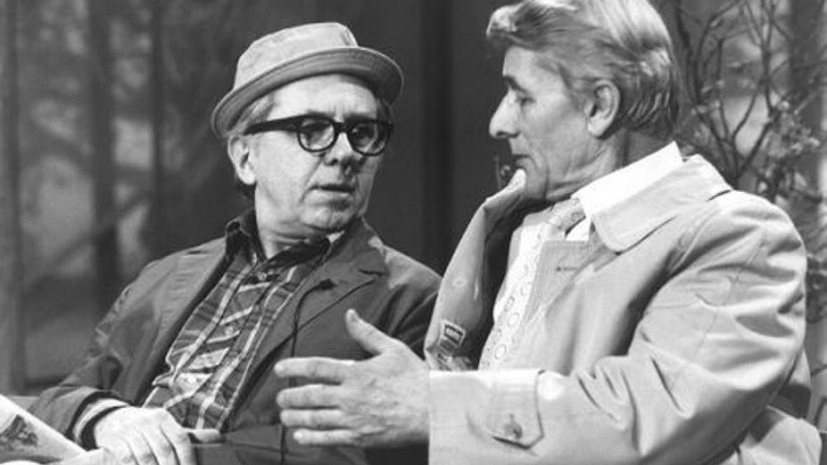 Felix Holzmann a František Budín
