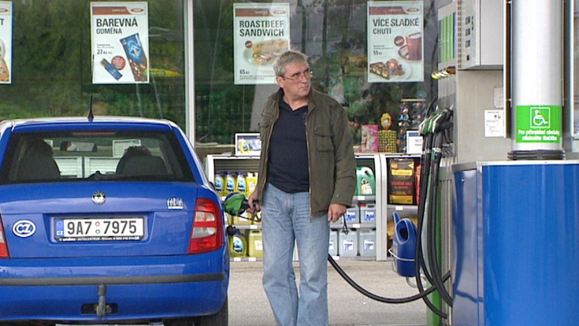 Tankování paliva