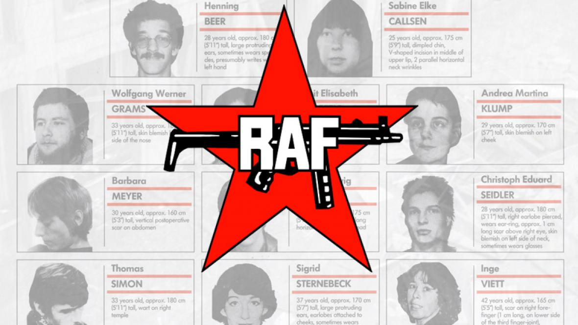 Logo teroristické organizace RAF