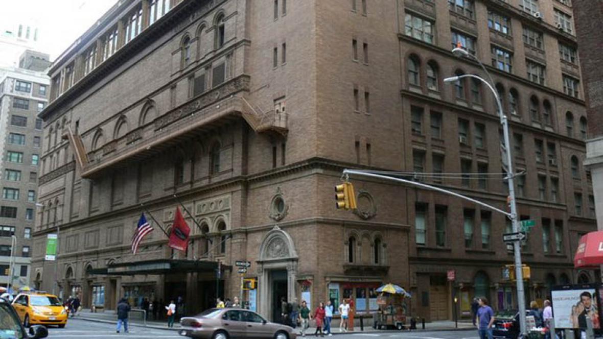 Carnegie Hall v New Yorku