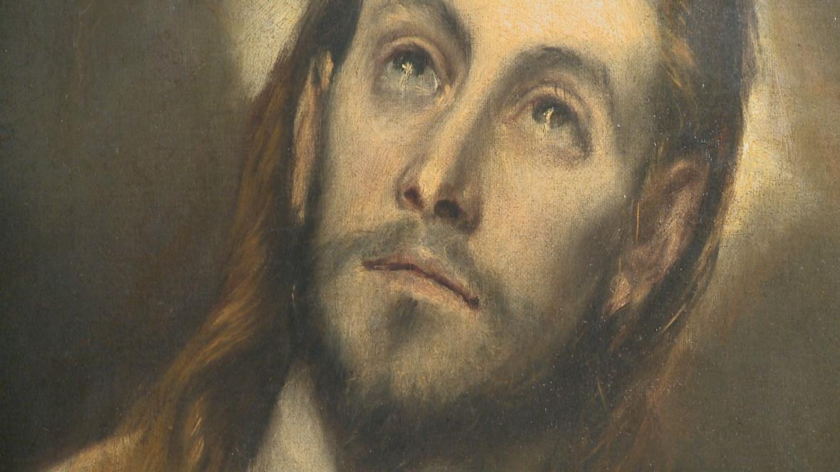 El Greco / Modlící se Kristus