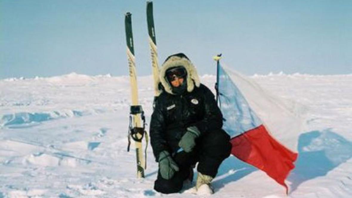 Cestovatel a polárník Miroslav Jakeš