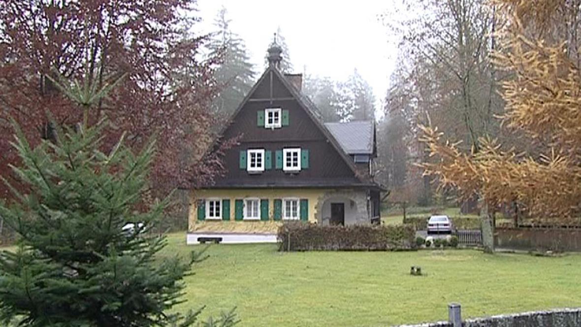 Lesní hájenka v Bavorsku